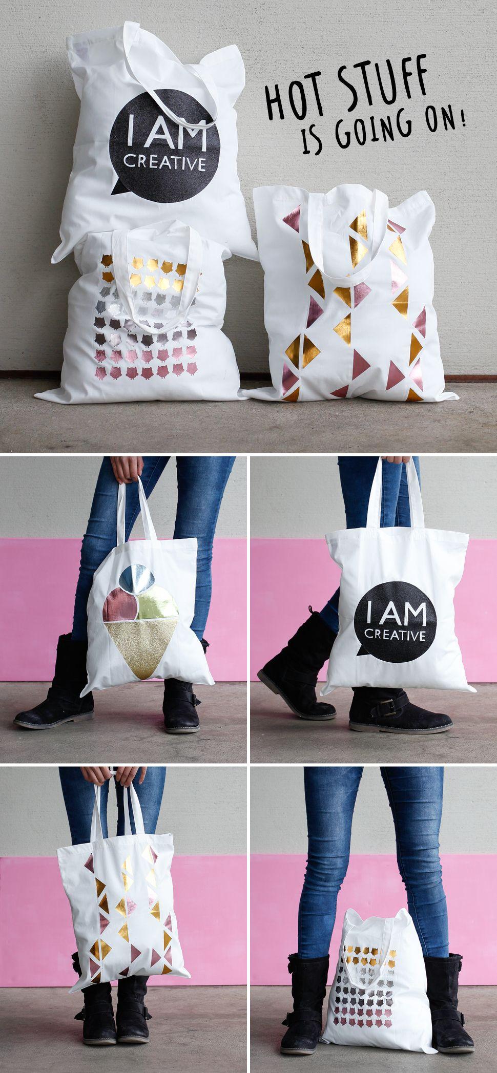 Jutebeutel Tasche Beutel Hipster Bag Farbe schwarz I love AIMEE