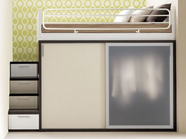 Armadio bambini ~ Soluzioni armadio di design per la camera da letto piccola