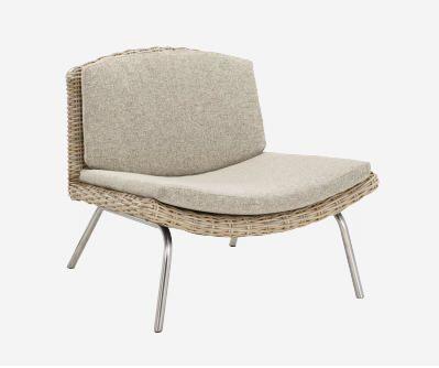 AROLD fauteuil en rotin prix promo Habitat 210 00 € TTC
