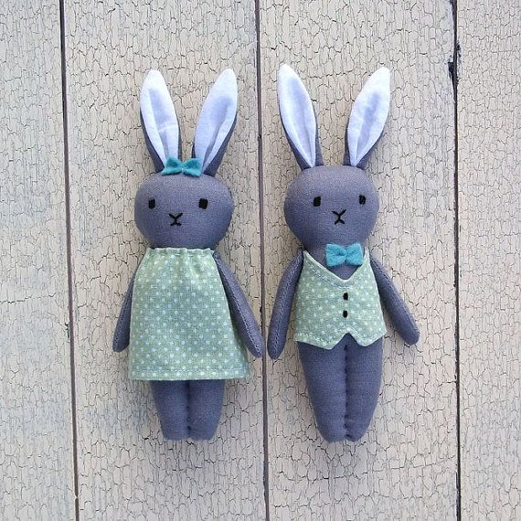 Hey, I found this really awesome Etsy listing at https://www.etsy.com/listing/179513088/miniature-bunny-rabbit-couple-bunny-doll