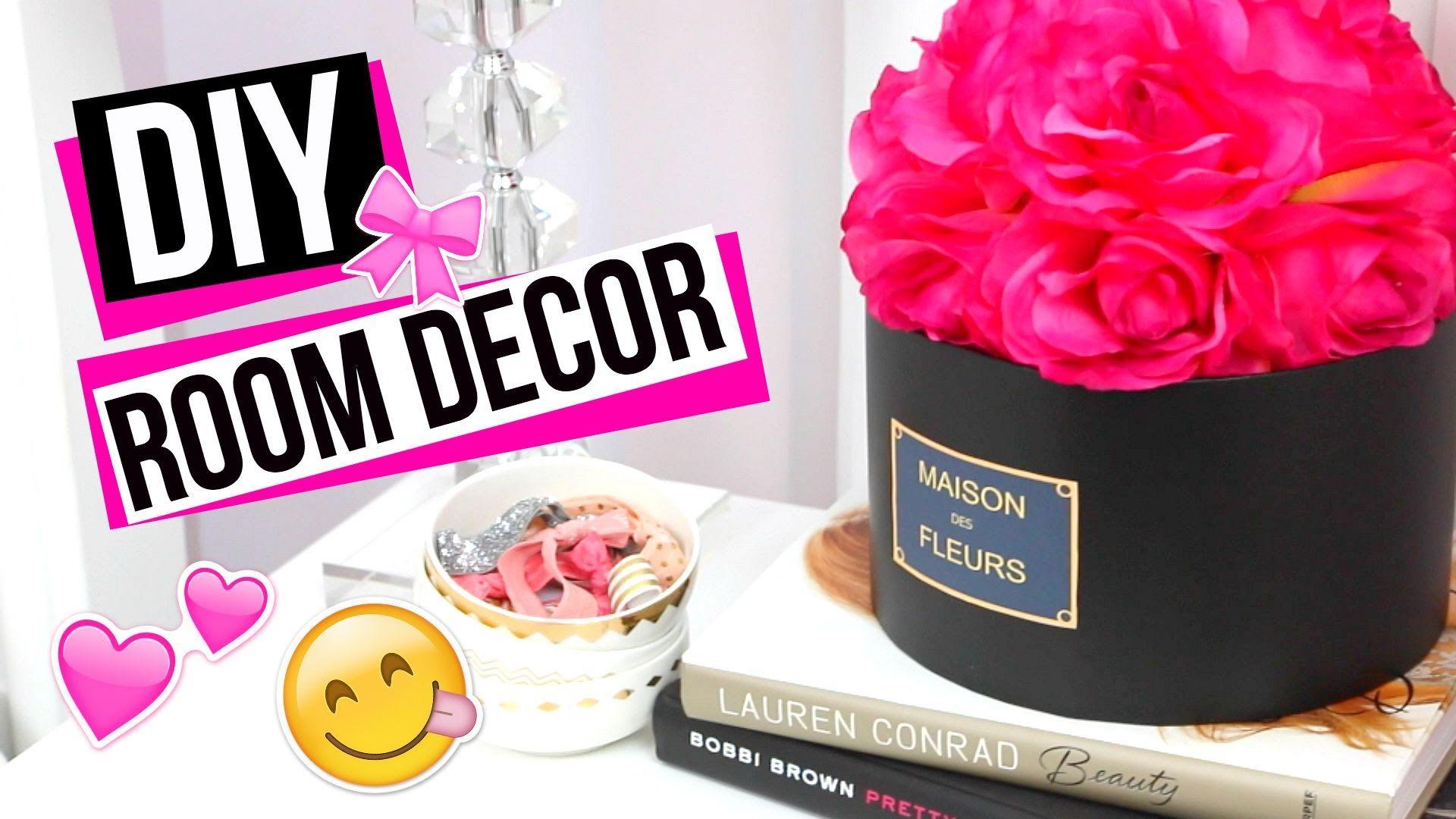 Diy Maison Des Fleurs Floral Arrangement Tumblr Room Decor Diy
