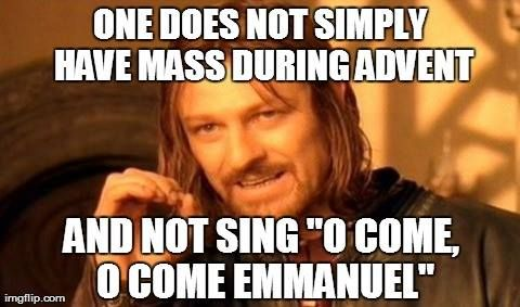 catholic memes one does not simply have mass during. Black Bedroom Furniture Sets. Home Design Ideas