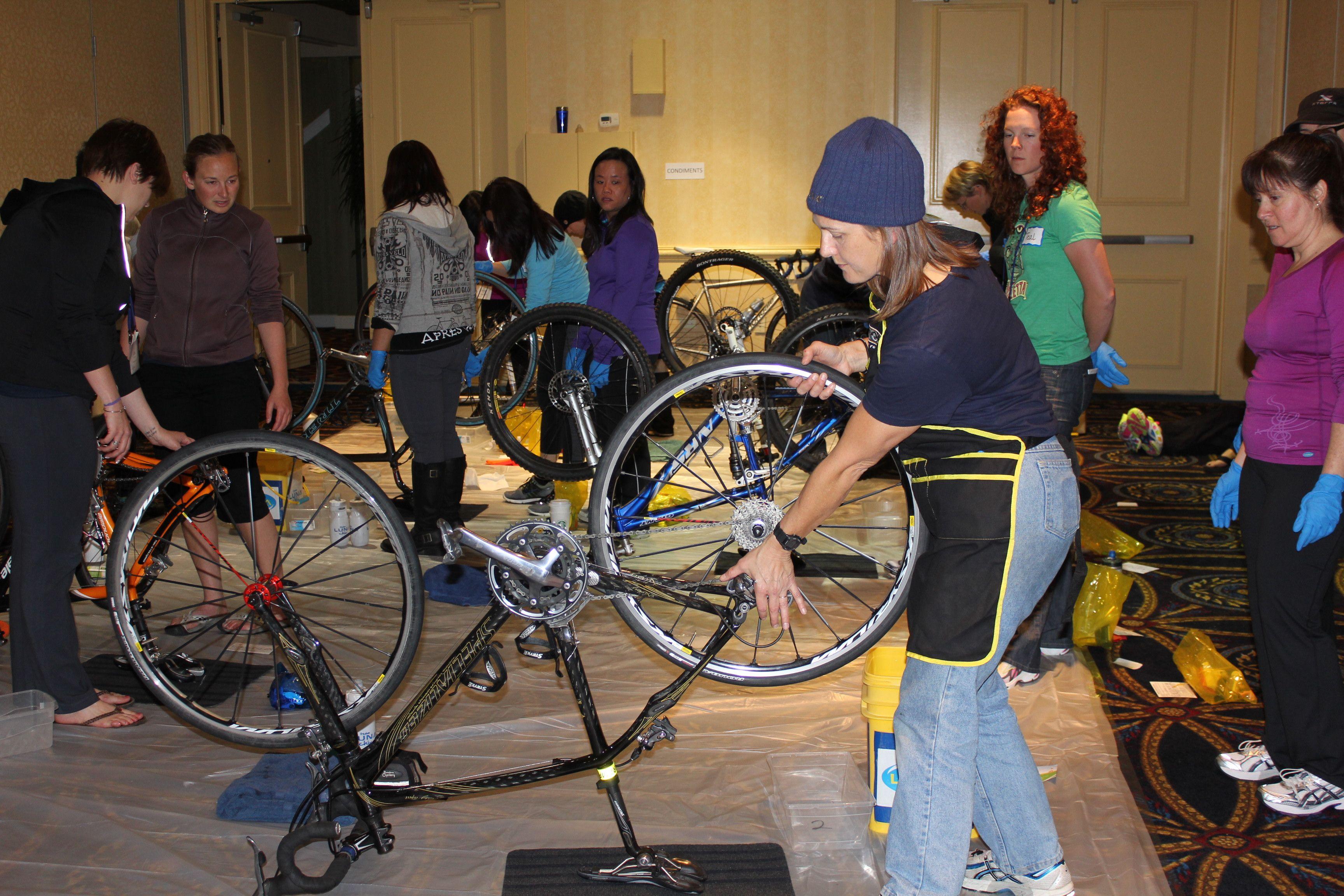 Basic Bike Care Clinic - LUNA Summit, San Francisco, Apr 2012