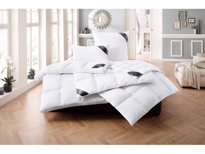 Photo of Down duvet + 3-chamber pillow Venice Excellent light