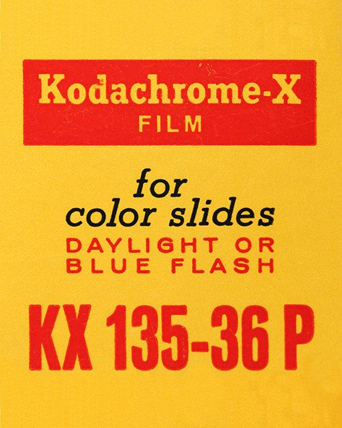 Kodak Kodachrome X Vintage Film Box 35mm Film Ilford Agfa