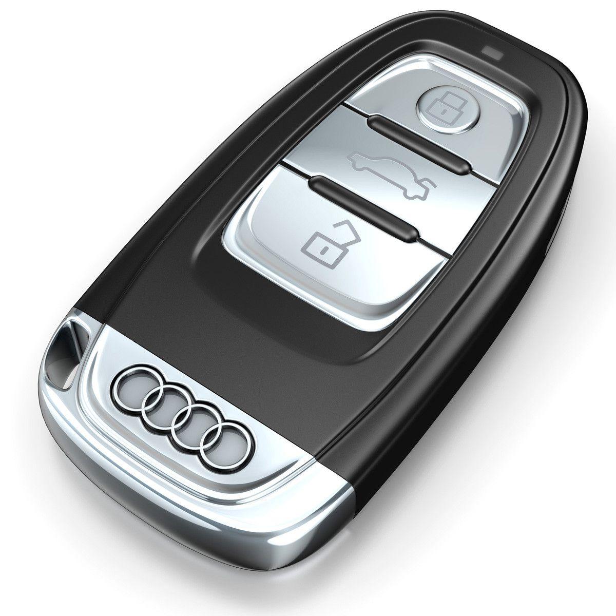 Audi Car Key Cd D Model DModeling Pinterest Car Keys - Audi car 3d games