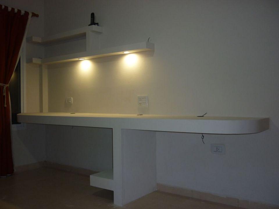 Construccion De Escritorio Para Pc Y Placard En Durlock Taringa Home Decor Home Home Projects