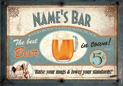 Bar Signs Poster - Beer