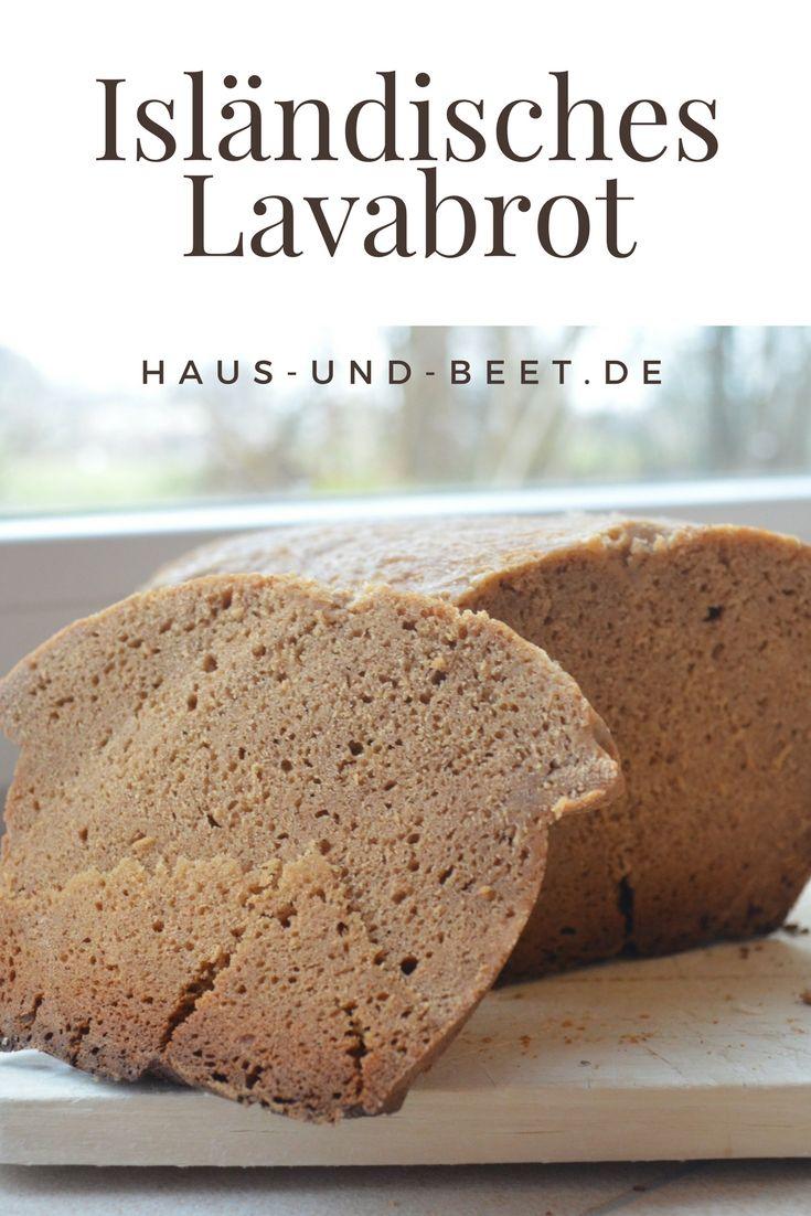 Isländisches Lavabrot – Brot des Monats Januar