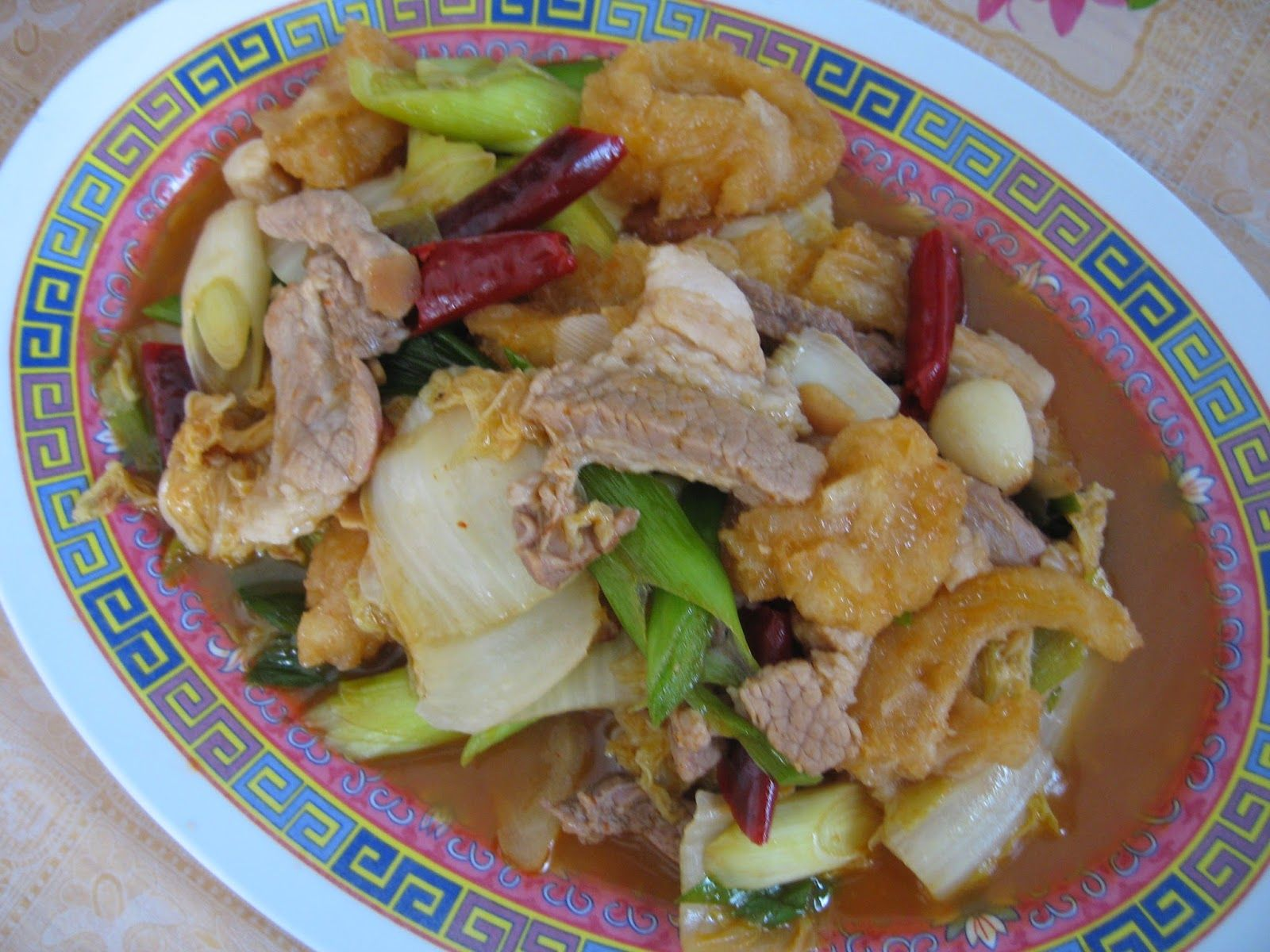 Sumptuous Flavours Chinese New Year Dish Spicy Fish Maw