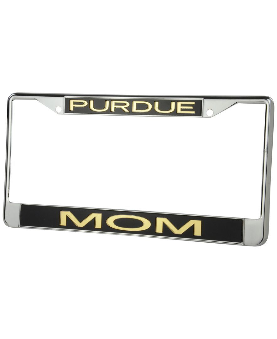 stockdale purdue boilermakers laser license plate frame