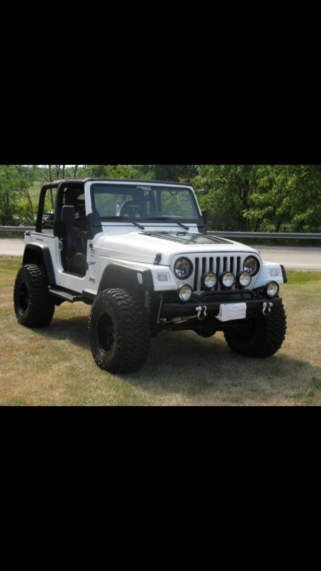 Jacked Up Jeep Tj Jeep Tj Jeep Wrangler Tj Jeep Wrangler