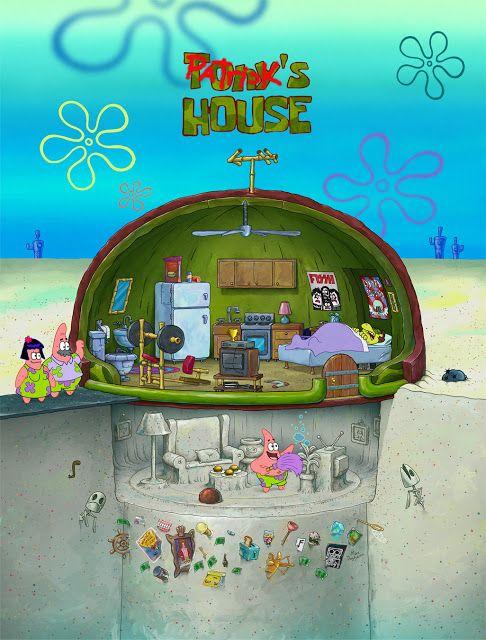 What Patrick Star's House Should Really Look Like in 'SpongeBob SquarePants'