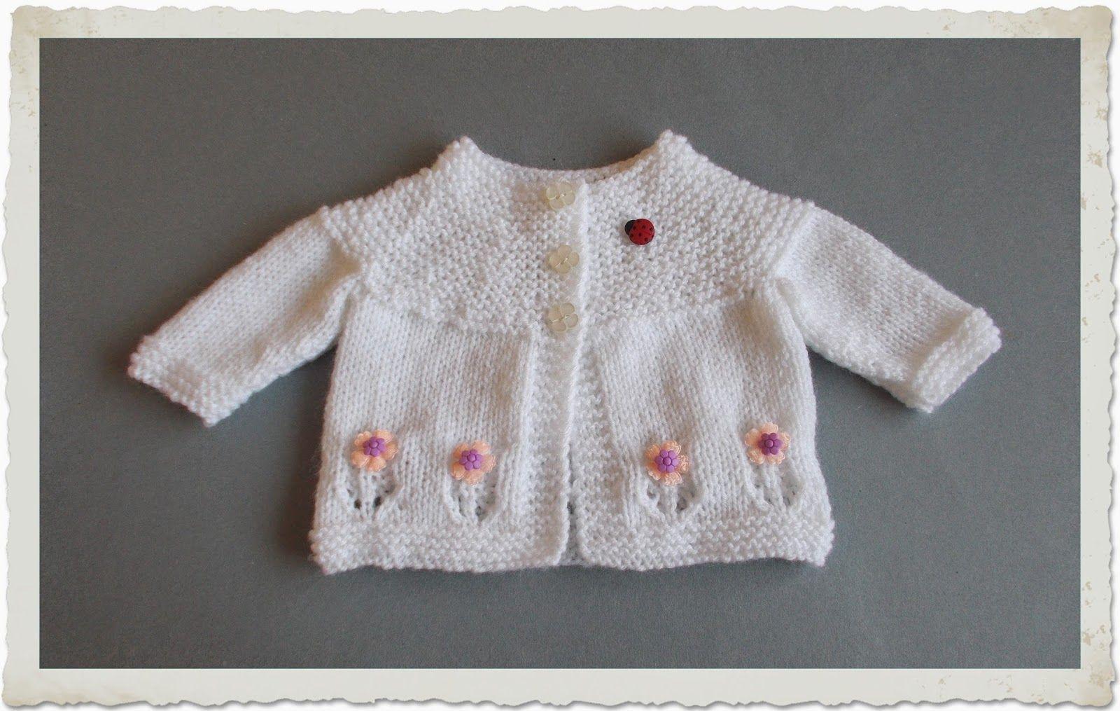 9798d4595c96 marianna s lazy daisy days  Fleur Baby Cardigan Jacket