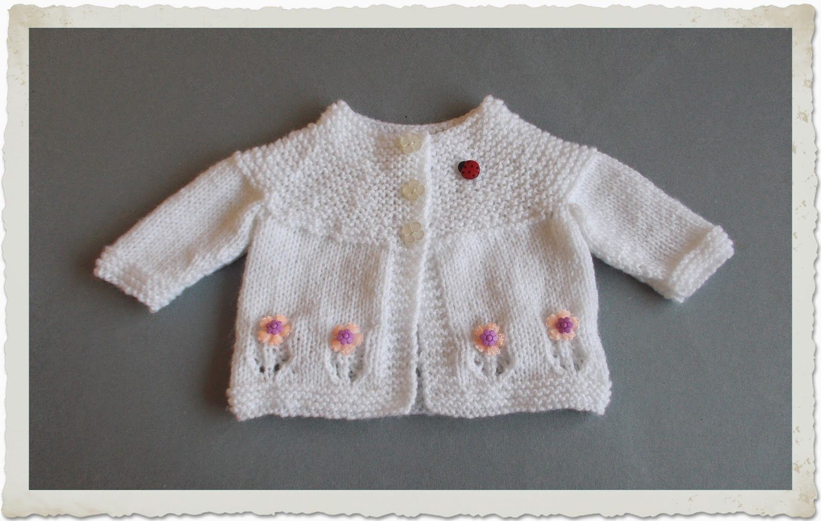 Mariannas lazy daisy days fleur baby cardigan jacket knitting free pattern ravelry fleur baby cardigan jacket pattern by marianna mel bankloansurffo Gallery