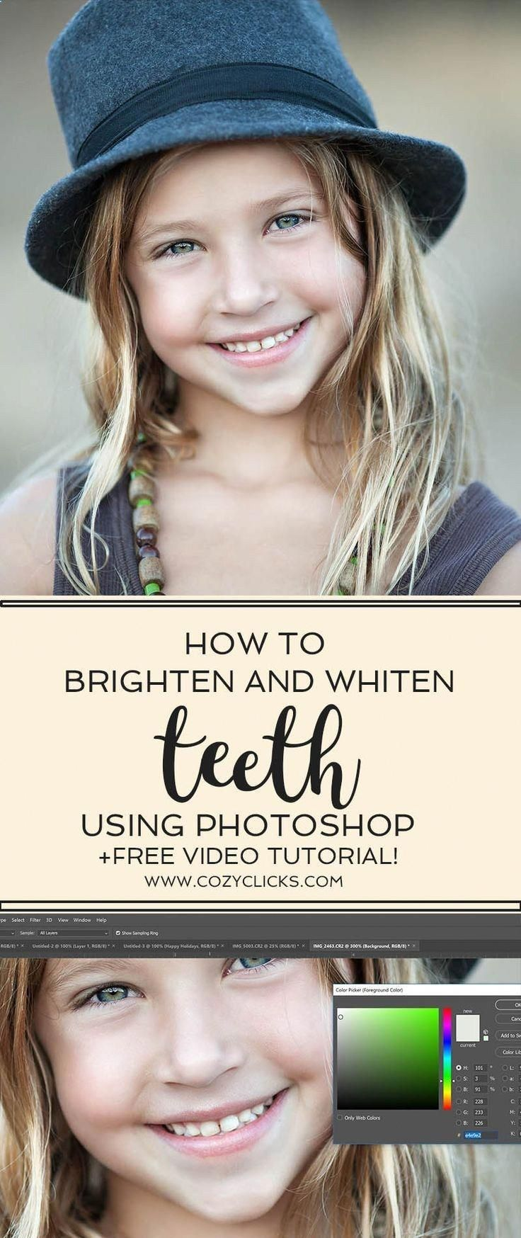 Learn how to get teeth looking white and bright using ...