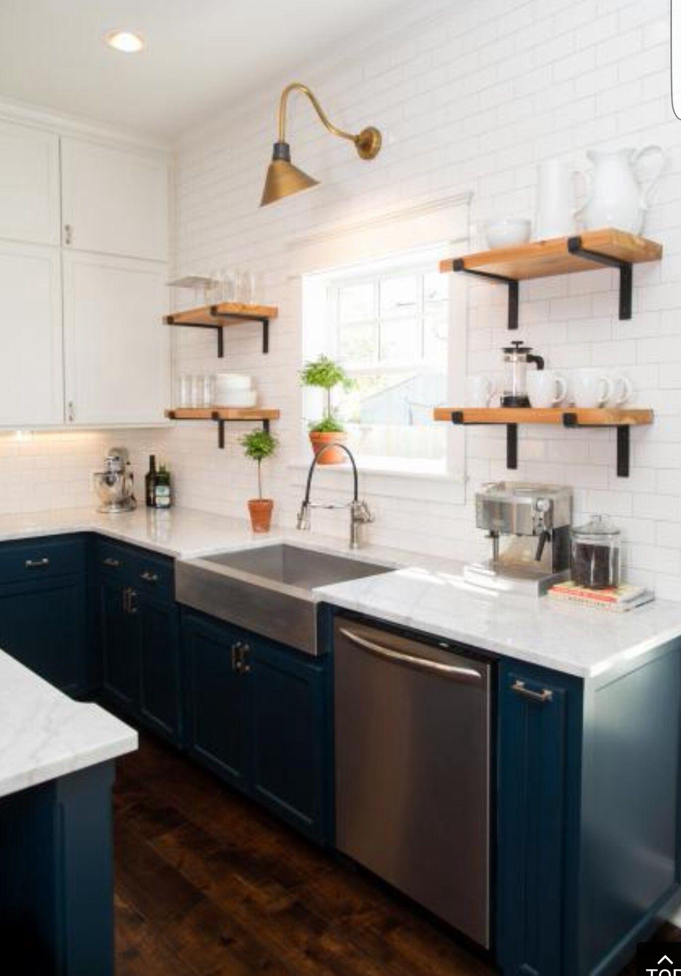 Like the shelves! | Kitchen shelves | Pinterest | Innenausstattung ...