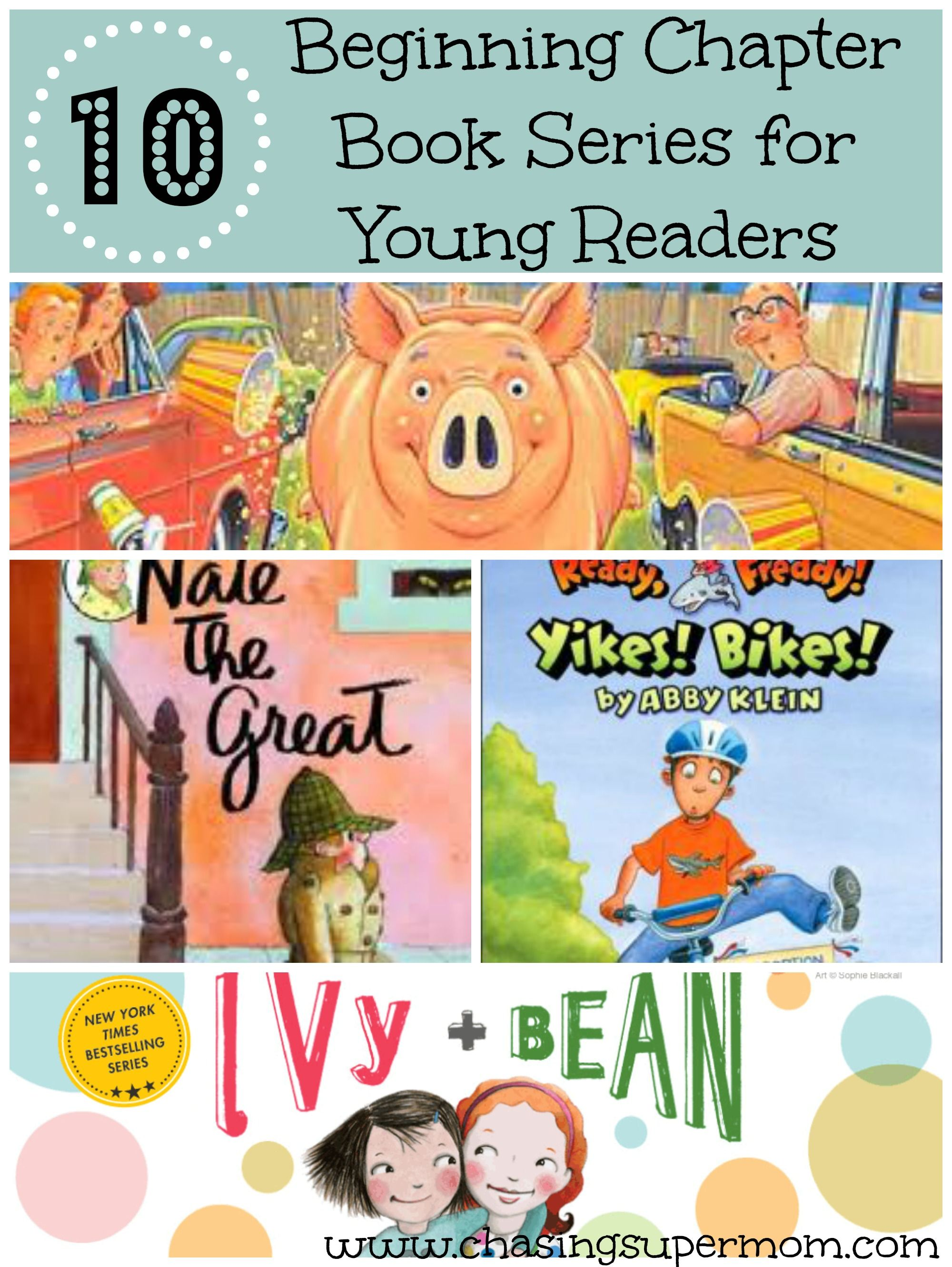 10 great beginning chapter book series for young readers