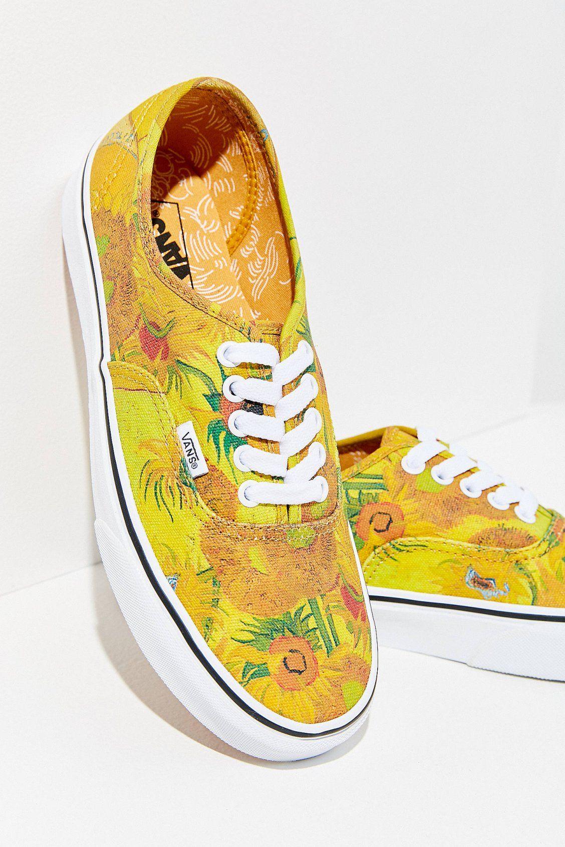 Vans X Van Gogh Authentic Sneaker Vans Girls Vans Shoes Girls Sneakers Fashion