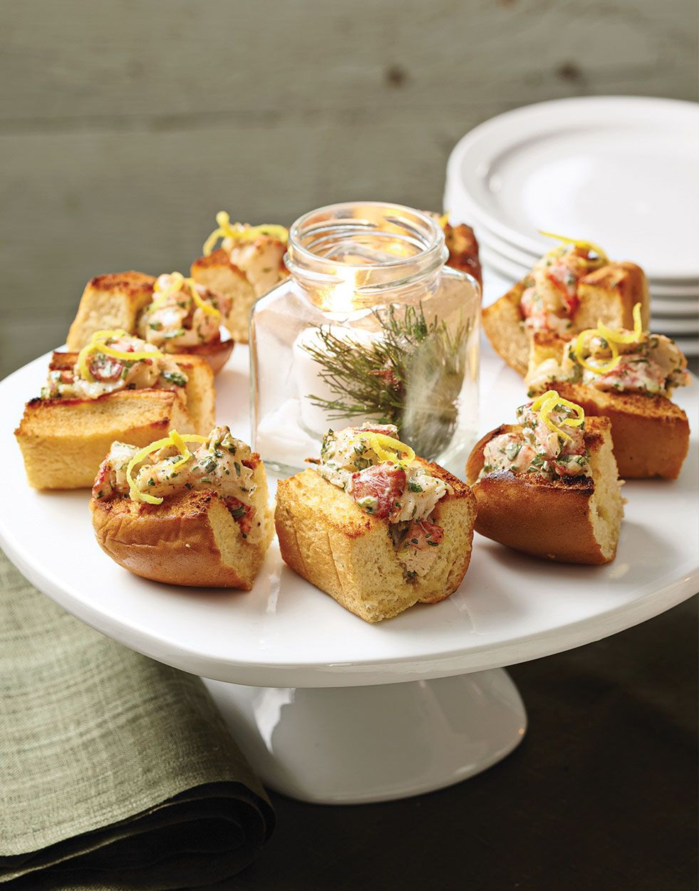 Mini Lobster Rolls with herb mayonnaise | Recipe | Lobster ...