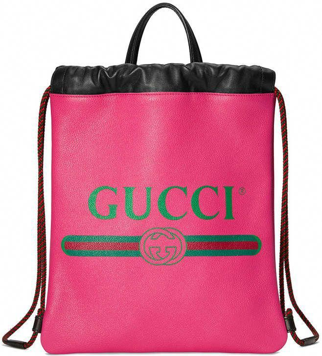 1ae46f3f6d96ad Gucci Print small drawstring backpack #Guccihandbags | Bags in 2018 ...