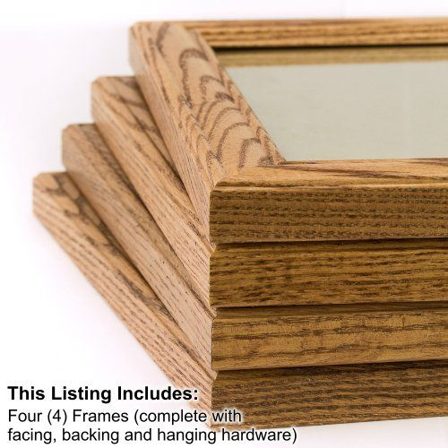 Craig Frames 59504100 11 By 14 Inch Picture Frame 4 Piece Gs