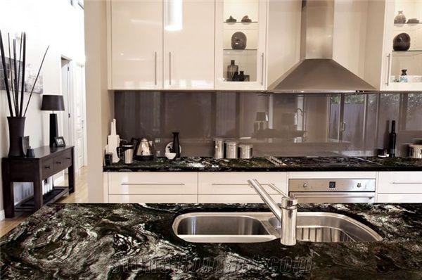 Kitchens Done With Atacama Black Granite Google Search Black Granite Kitchen Granite Kitchen Home