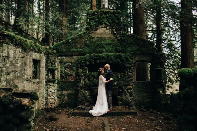 Find Something Unique Like This Stone House In The Forest To Host Your Ceremony