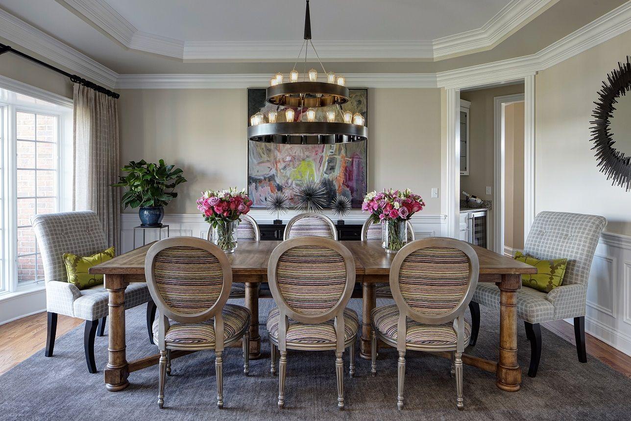 Comedor mesa madera antigua sillas luis xvi Diseo Edyta