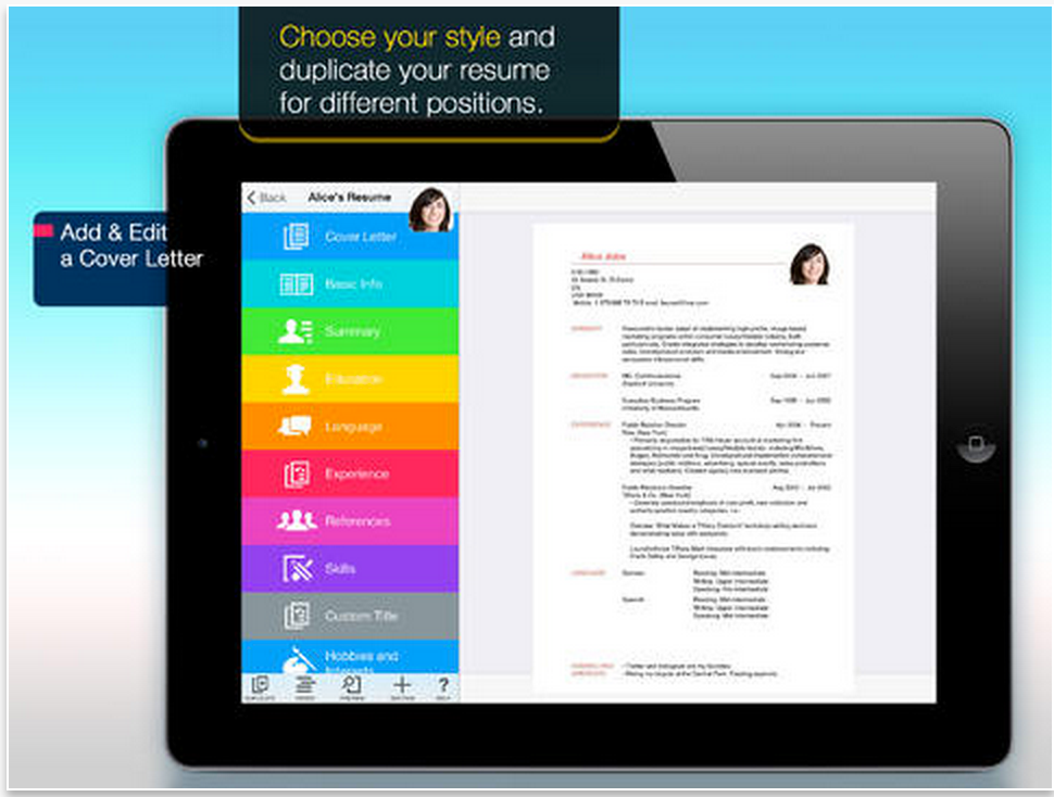 Resume Pro is Free Today Easily Create Beautiful Resumes