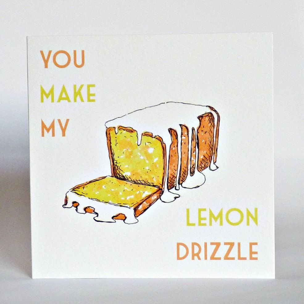Funny anniversary cake quotes - Funny Valentines Love Card You Make My Lemon Drizzle Anniversary Cake Love Cards Birthday Greeting Husband Wife Boyfriend Best Friend