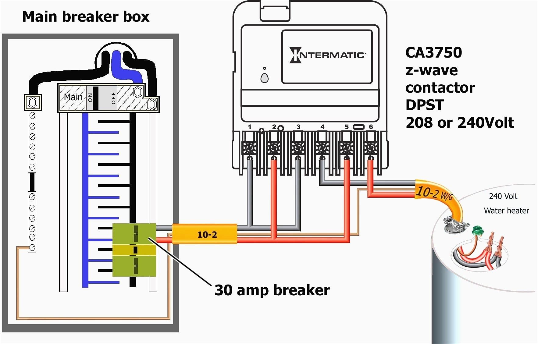 New Simple Contactor Wiring Diagram Gfci, Breaker box, 3