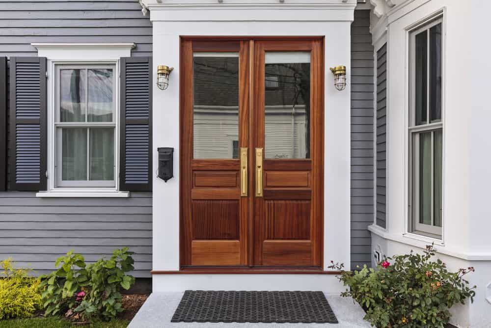 32 Types of Glass Front Doors for Your Home Brown front