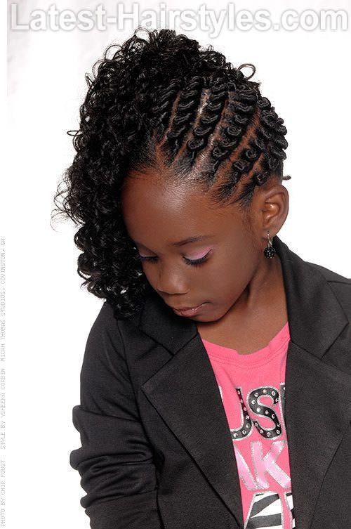 20 Cute Hairstyles For Black Kids Trending In 2020 Easy Hairstyles Hair Styles Little Girl Hairstyles