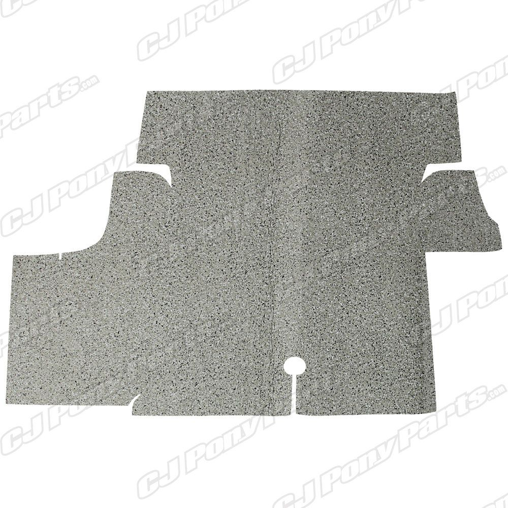 Acc Carpets Trunk Mat Spatter Burtex Coupe 1969 Mustang Coupe Coupe Trunks