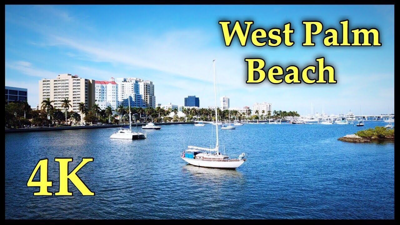 West Palm Beach 2020 By Drone In