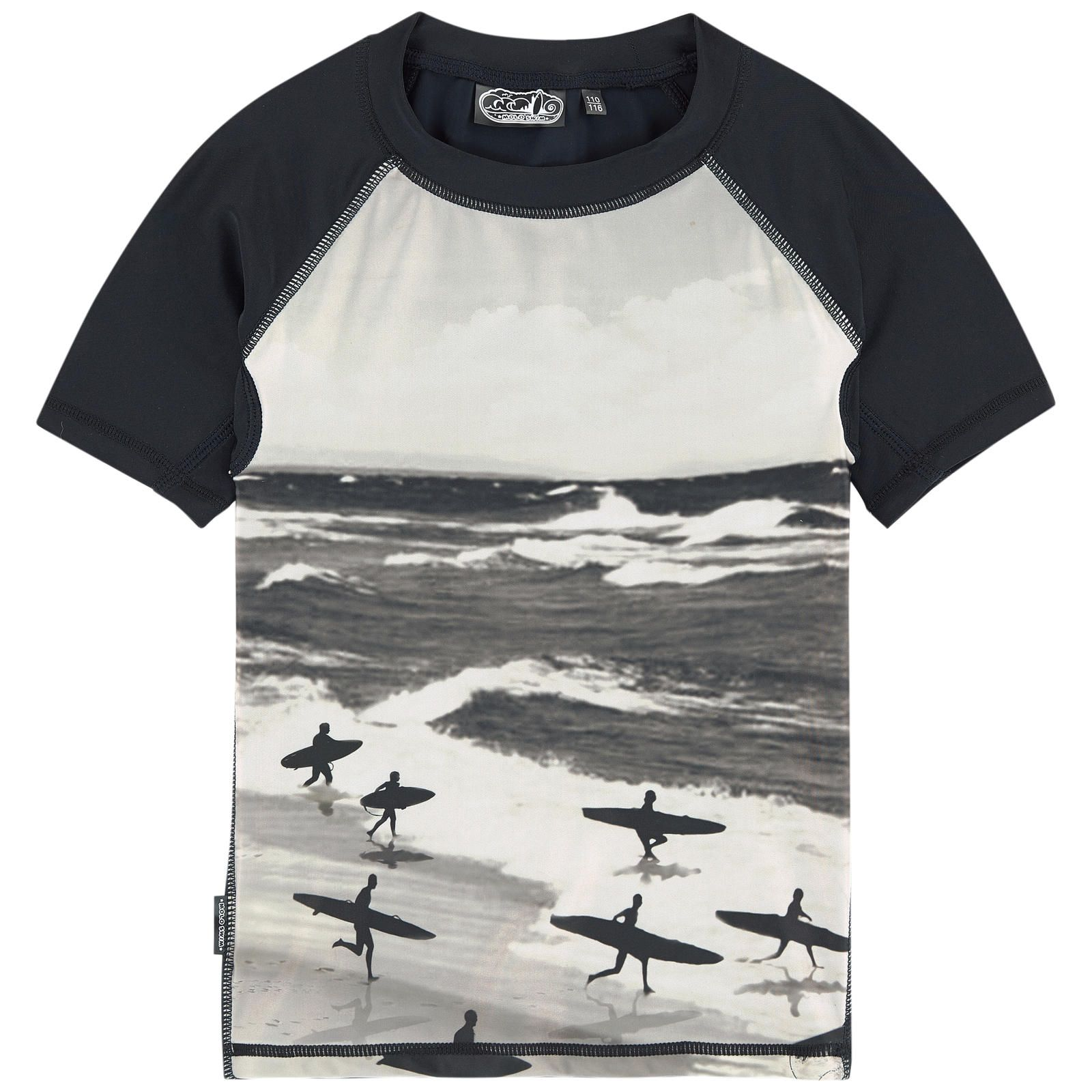 34563591ae ... UV40+ protection Fitted cut Crew neck 3/4 raglan sleeves Front print  Small logo patch on the heels - $ 39. UV sun protection beach T-shirt  Neptune ...