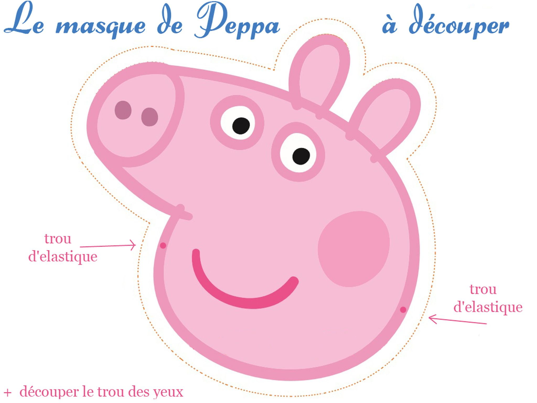 peppa pig 1 et 2 et 3 doudous patrons patterns gabarits fete