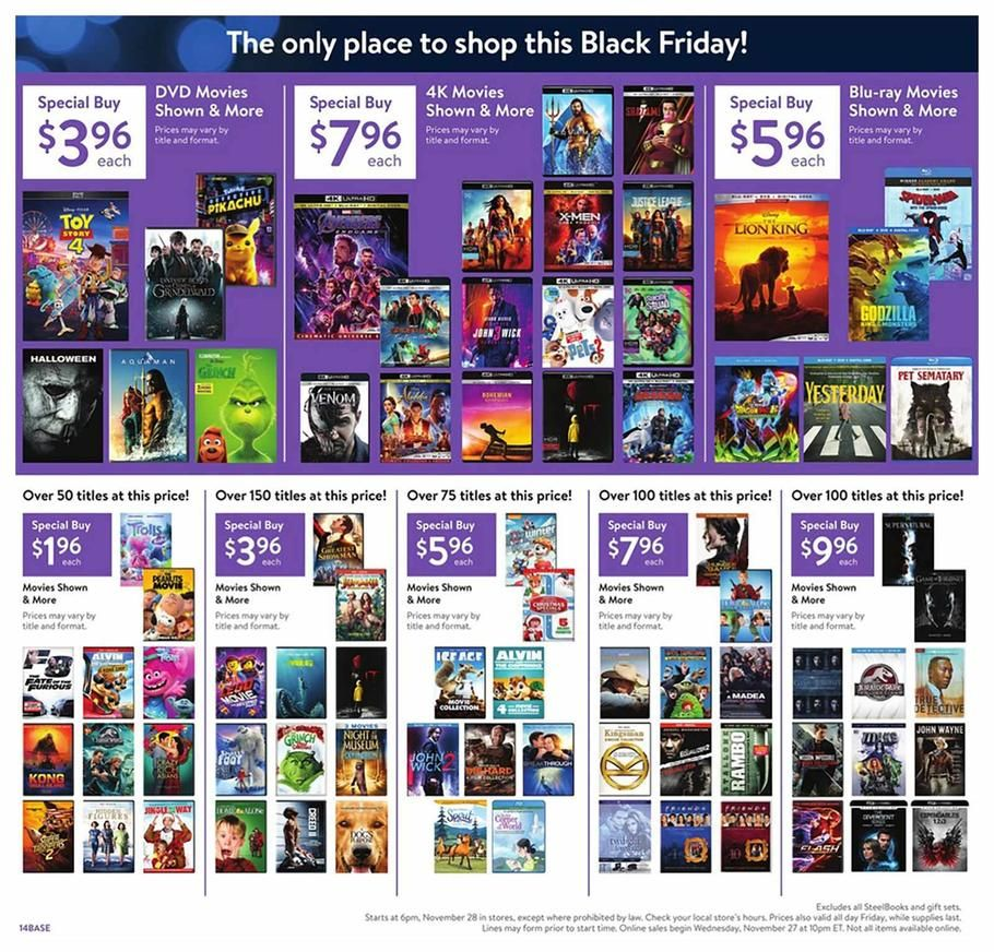 Walmart Black Friday Ad Scan Deals And Sales 2019 Walmart Black Friday Ad Black Friday News Black Friday