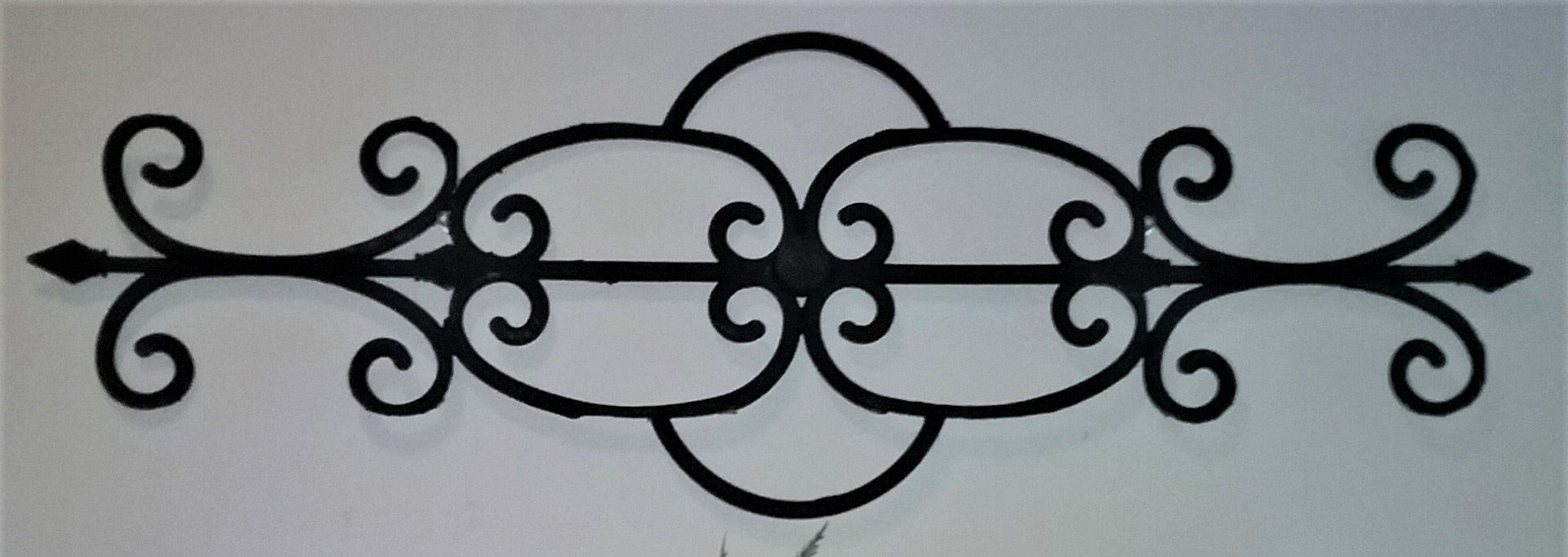 Dollar Tree Diy Faux Wrought Iron Wall Decor Wrought Iron Wall