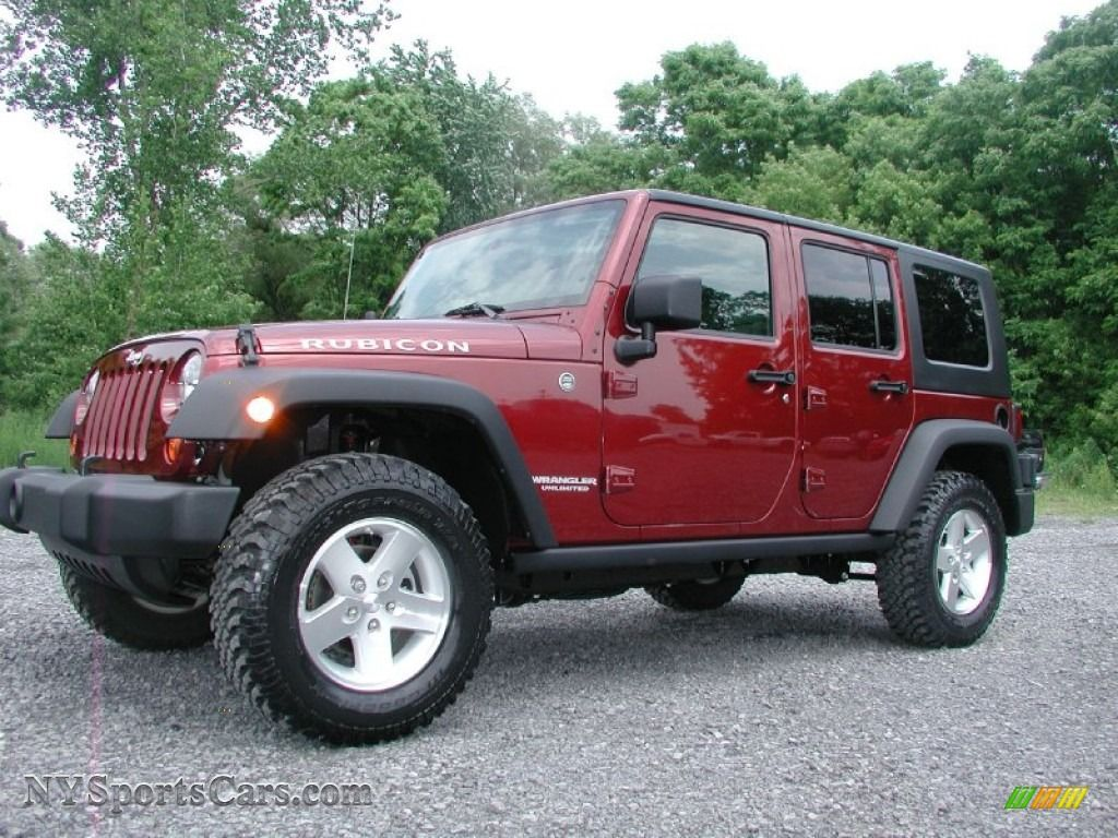 2009 Jeep Wrangler Unlimited Rubicon 4x4 In Red Rock Crystal Pearl 706575 Nysportscars Com 2009 Jeep Wrangler Unlimited Wrangler Unlimited Jeep Wrangler