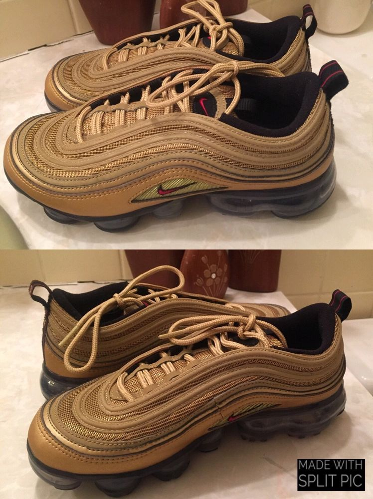 finest selection f676c 9626c Nike Air Vapormax '97 Metallic Gold Size 5.5 #fashion ...