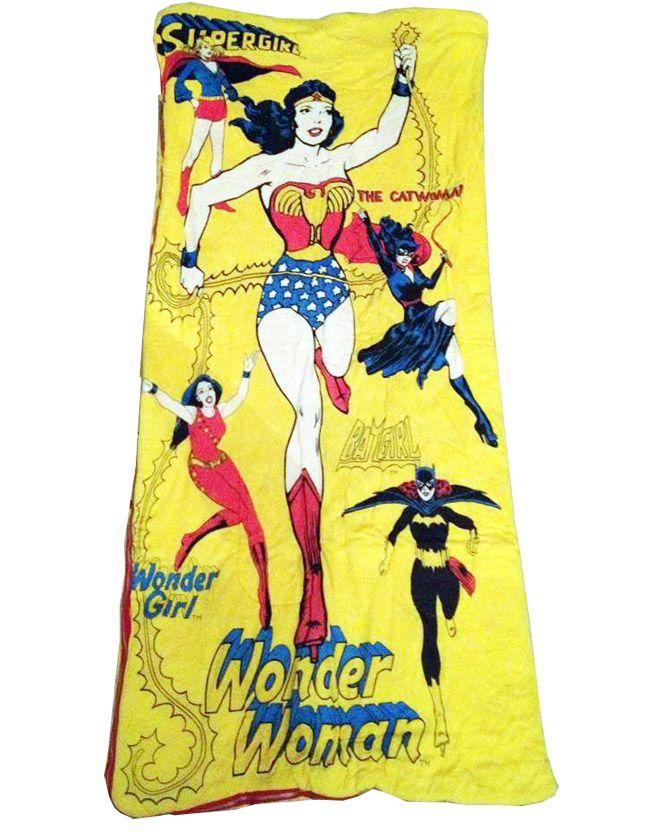 wholesale dealer 9a201 e55f4 Wonder Woman Sleeping Bag - 1979 | My inner geek | Wonder ...