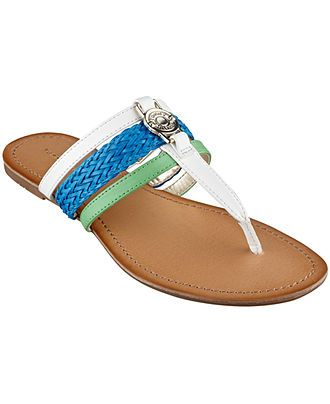 3d1b60188c86a Tommy Hilfiger Women s Liz Thong Sandals - Sandals - Shoes - Macy s. Almost  bought these