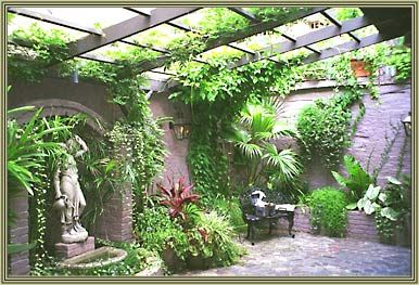 Charmant New Orleans Courtyard Gardens | French Quarter Gardens And Custom Courtyards