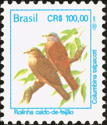 Birds on stamps: Brazil Brazilie Brésil Brasil
