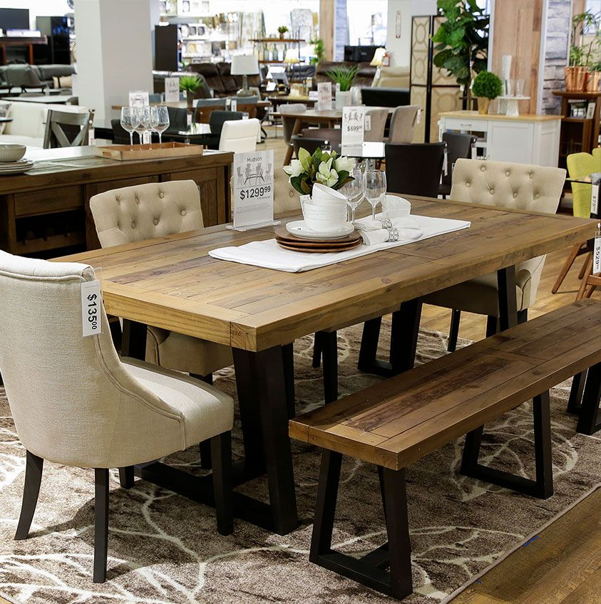 Hudson Dining Table Four Round Back