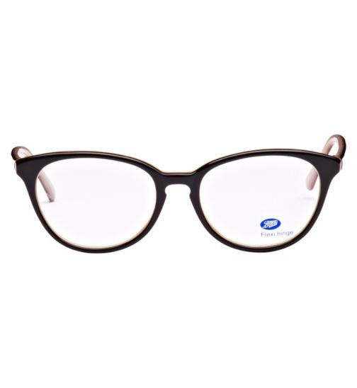 45a7ee641db6 Boots Luisa Womens Pink and Tortoise Shell Glasses - Opticians - Boots
