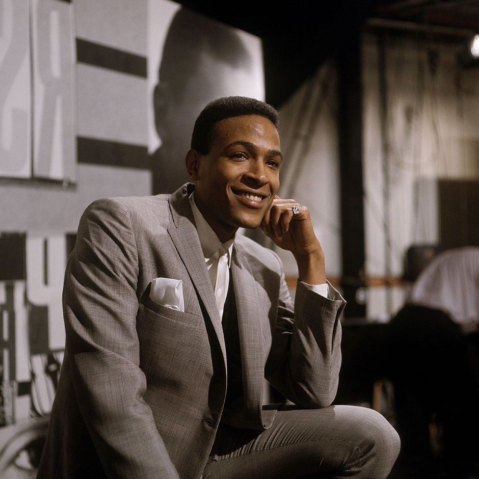 Marvin Gaye. This man was so talented, sometimes listening to him hurts. And Al Green.
