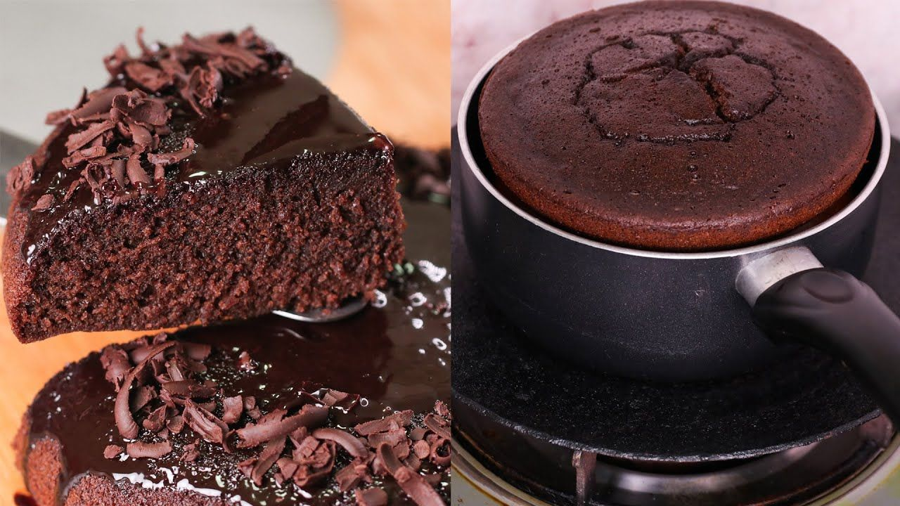CHOCOLATE CAKE ONLY 3 INGREDIENTS IN LOCK-DOWN | WITHOUT ...